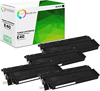 TCT Premium Compatible Toner Cartridge Replacement for Canon E40 1491A002AA Black Works with Canon PC940 PC920 PC921 PC980 Printers (4,000 Pages) - 4 Pack