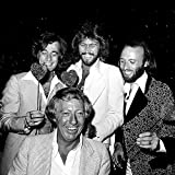 Celebrity Photos The Bee Gees with Robert Stigwood Photo