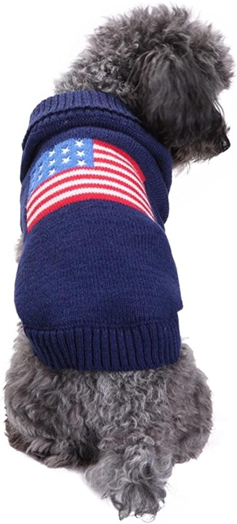 Howstar OFFicial shop Pet Clothes Dog Knitted Puppy Classic Classic Sweater Cute Vest
