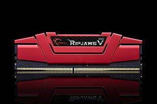 gskill F4–3000C15S de 16gvr Ripjaws V Memoria DDR4-RAM de 16GB (D43000, C15, 1,35V) Rojo