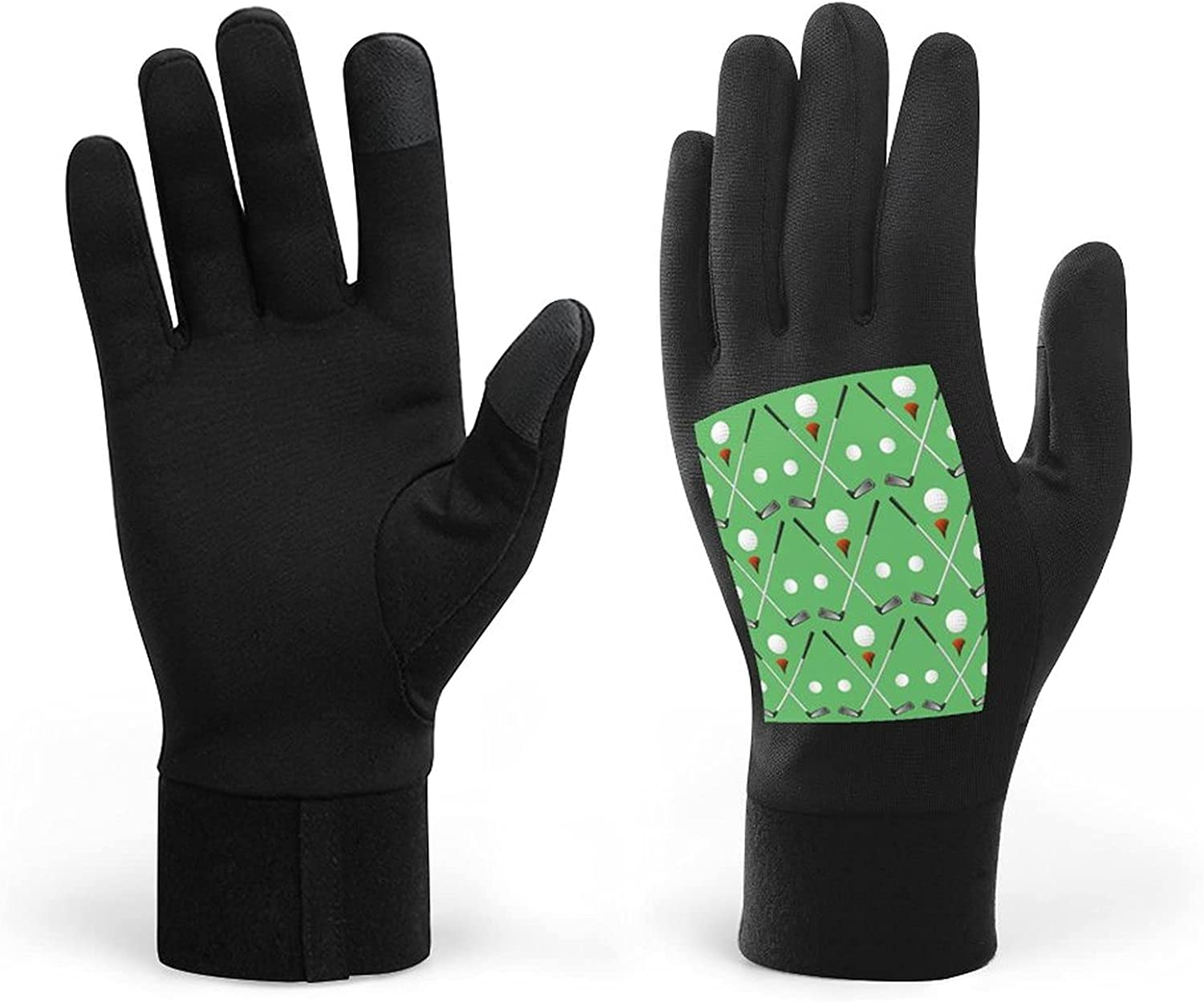 Golf Winter Warm Gloves, Men Women Touch Screen Glove Windproof Warm Gloves For Driving Cycling