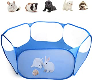 Casifor Guinea Pig Cage Rabbit Cage Indoor with Mat Playpen Perfect Size for Small Animal Pet Play Pen Easy to Clean Exerc...