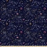 Lunarable Sternbild Stoff von The Yard, Star Cluster