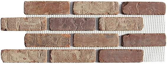 Brickwebb Thin Brick Sheets - Flats (Box of 5 Sheets) - Castle Gate