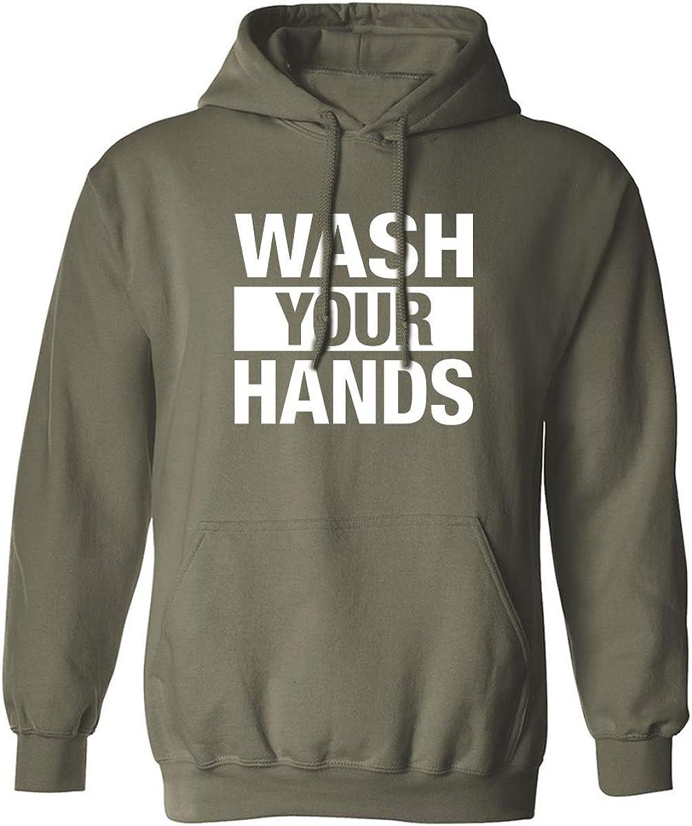 Wash your hands Adult Hooded Sweatshirt