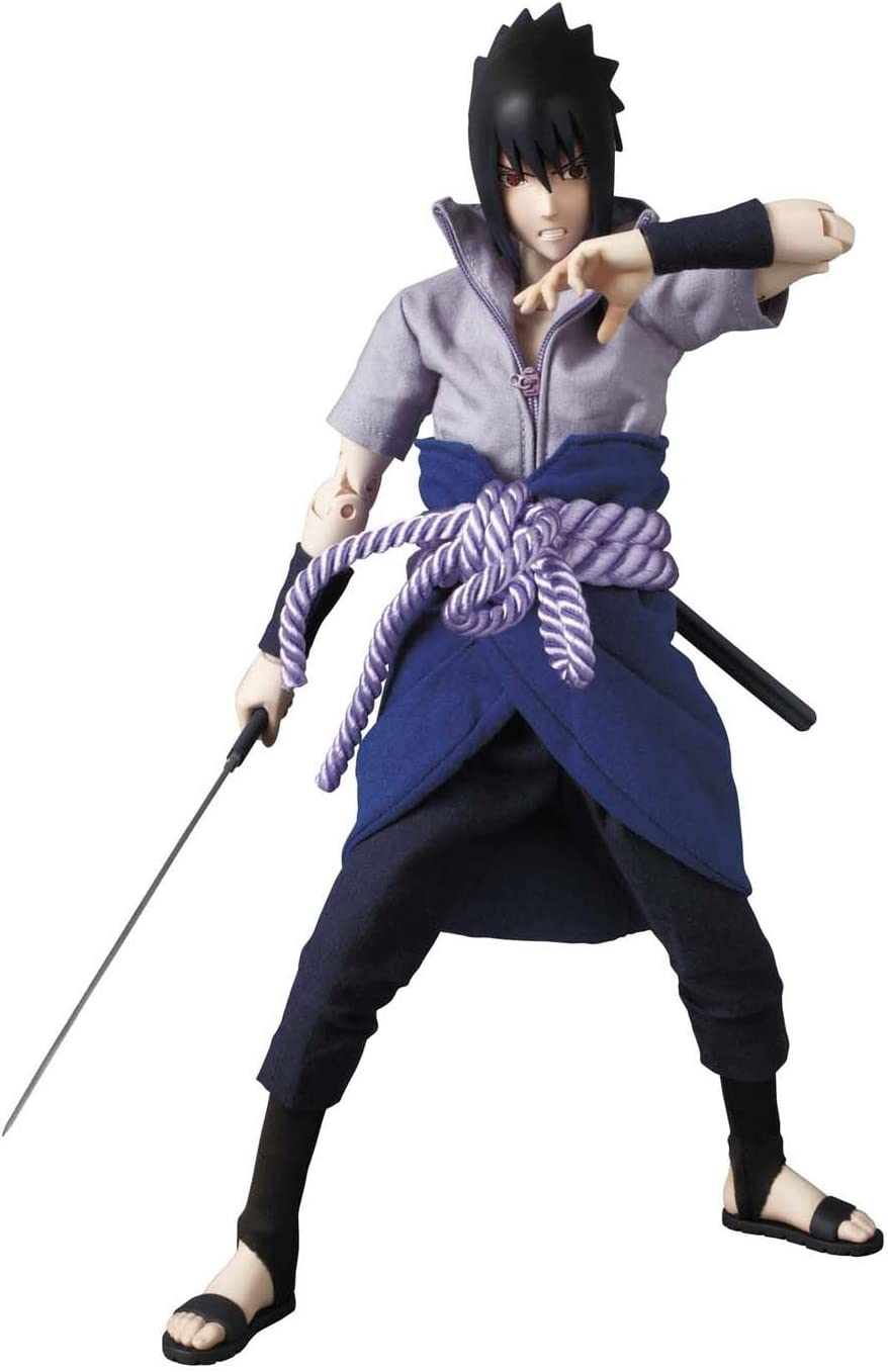 Naruto Popular standard Max 64% OFF Shippuden Medicom Project Action Figure Sasuke BM