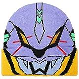 Bioworld Neon Genesis Evangelion Unit-01 Big Face Knit Beanie