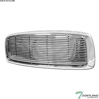 Topline Autopart Chrome Horizontal Billet Front Hood...