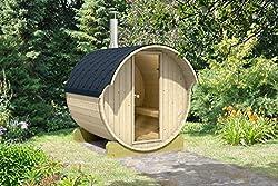 Allwood Barrel Sauna With Wood Fired Heater