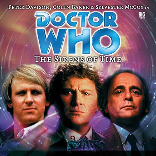 Doctor Who - The Sirens of Time audiobook cover art