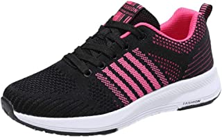 UOKNICE Women' Lightweight Gym Running Sports Shoes Casual Breathable Sneakers