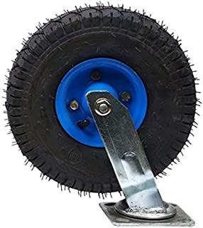 Zwenkwiel Bewegende zwenkwielen Premium zware zwenkwielen met metalen plaat Industriële zwenkwiel Enkele wielbelasting: 20...