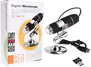 1600X Digital Microscope USB 8 LED Endoscope Magnifier with Microusb Adapter
