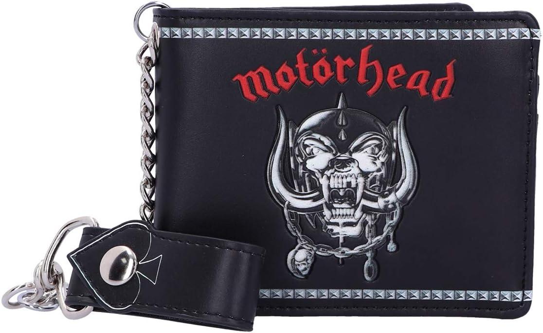 Nemesis Now Officially Licensed Motorhead Ace of Spades Warpig Snaggletooth Wallet, Black, 11cm