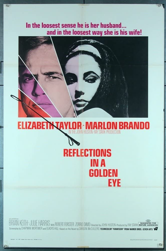 Reflections In A Golden Latest item Eye 1967 Poster One Original Bombing free shipping 27 Sheet