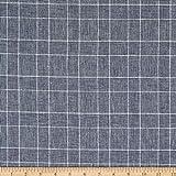 TELIO 0770736 Linen Cotton Yarn Dyed Glencheck Fabric