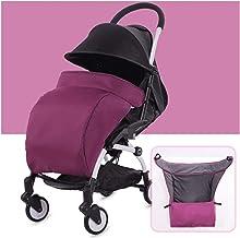 SSXPNJALQ Ajuste para Yoya Plus Yoyo Accesorios Accesorios Accesorios de Cochecito de Invierno Cubierta de Pierna Apreciación a Prueba de Viento FootMuff Pie Funda Cochecito BabyZen (Color : Purple)