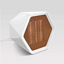 Calefactor Eléctrico, Mini Calefactor Ventilador, Cerámico Caliente Ventilador, Calefactor de Aire Caliente, Calentador de Portátil para Cuarto Oficina