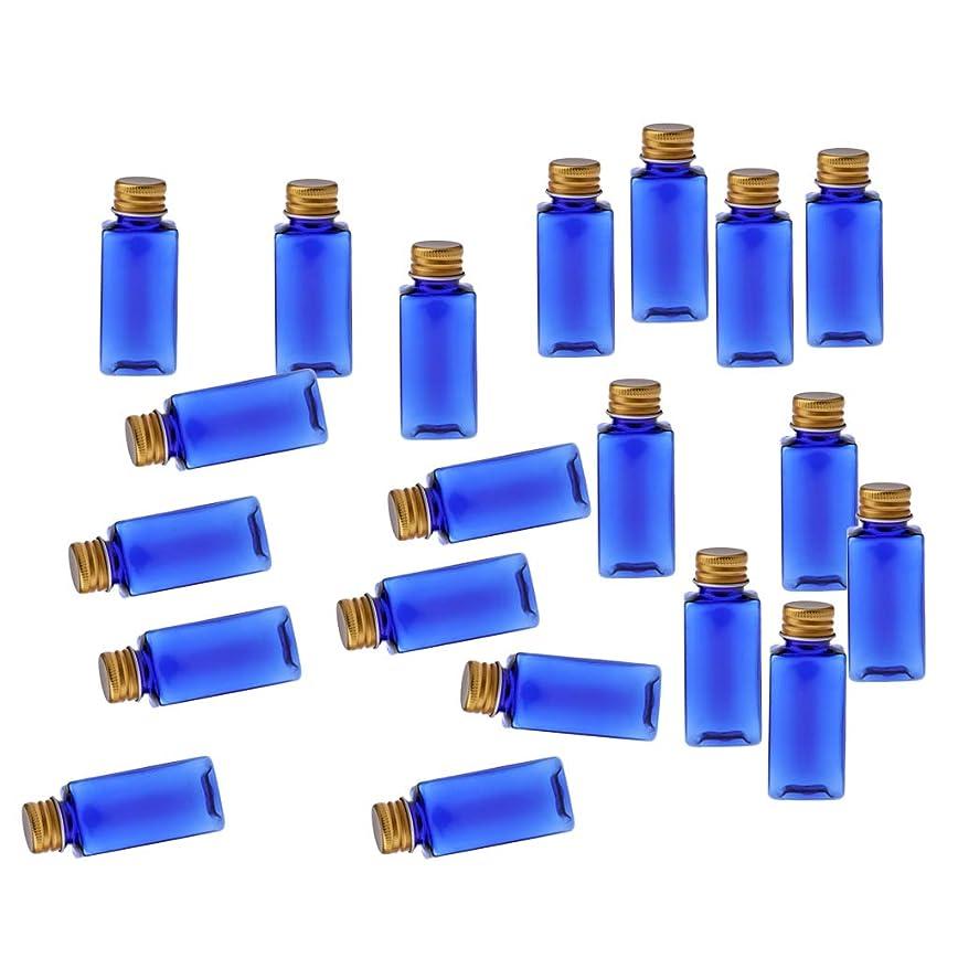 発生するレンディション大邸宅B Baosity 約20本 メイクアップボトル 30ミリリットル コスメ 詰替え容器 8色選べ - ブルーゴールド
