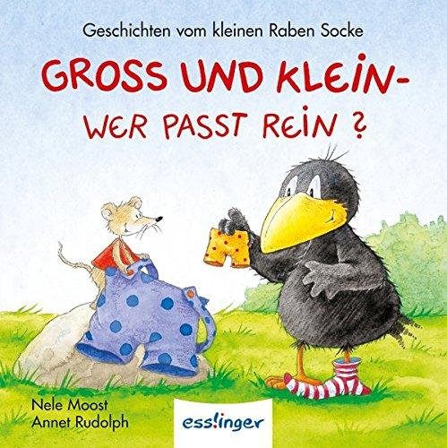 Kleiner Rabe Socke: Groß und Klein - Wer passt rein? - Mini-Ausgabe