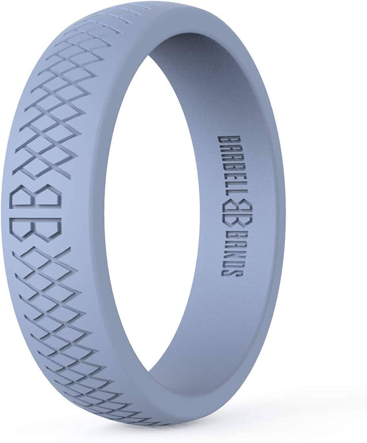 Barbell Bands Silicone Ring for B Premium Women Wedding Los Angeles Mall Bombing new work Rubber