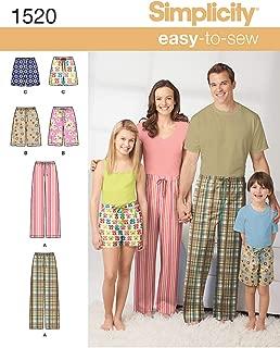 simplicity shorts pattern