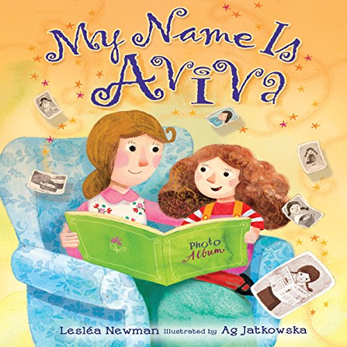My Name Is Aviva audiobook cover art