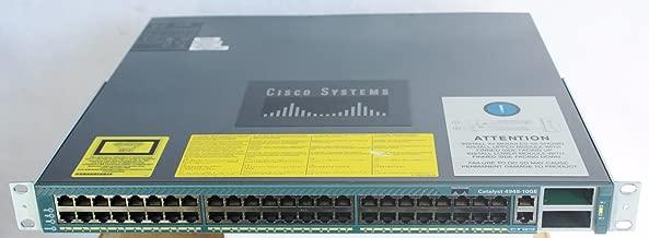 Cisco WS-C4948-10GE-S Catalyst 4948-10GE 48 Port Switch