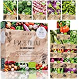 Gemüse Samen Set - 14 Sorten Gemüsesamen aus biologischem Anbau