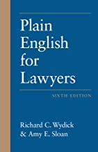 Plain English for Lawyers, Sixth Edition PDF