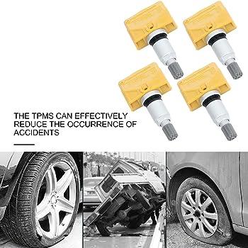 4 Tire Pressure Sensors 433 Mhz TITAN TPMS fit Jeep