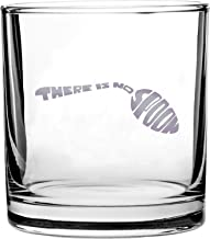 There Is No Spoon Science-Fiction Cyberpunk Movie Parody - 3D Color Printed Scotch Whiskey Glass 10.5 oz