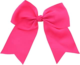hot pink bow accessories