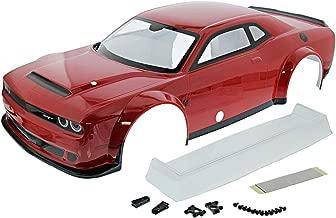Kyosho Inferno GT2 Nitro Dodge Challenger SRT Demon 2018 RED Body Shell & Wing