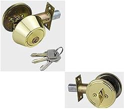 Klein veiligheidsslot Hoge kwaliteit Ronde Dubbelzijdig slot met sleutel for het kabinet Gate Bedroom Living Room Furnitur...