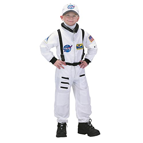 9c317c7b940 Aeromax Jr. Astronaut Suit with Embroidered Cap and NASA patches