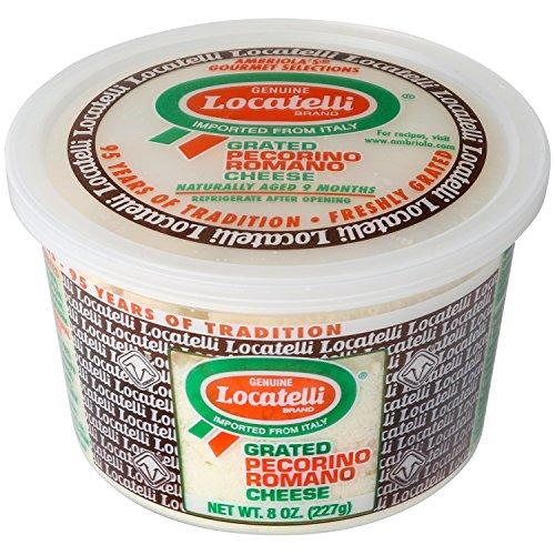 Locatelli Grated Pecorino Romano Cheese, 8 oz