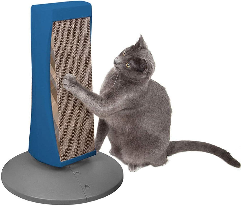 MKKMM Cat supplies column type redatable creative fun corrugated paper cat scratch board