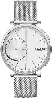 Skagen Connected Men's Hagen Stainless Steel Hybrid Smartwatch, Color: Silver-Tone (Model: SKT1100)