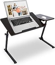 Laptop-bureau, verstelbaar, inklapbaar, kantelbaar, muismat voor onafhankelijke muis, pc-standaard, houder van koolstofsta...