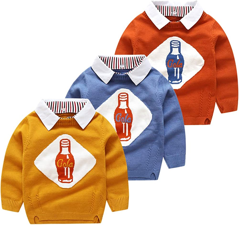 Vinnytido Kids Sweaters Baby Wool Pullover Safety and trust Sweater Brand Cheap Sale Venue Boys