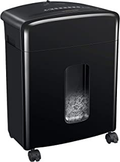 Bonsaii 12-Sheet Cross-Cut Paper, CD/DVD, and Credit Card Shredder with 3.5-gallons Pullout Basket, Black (C220-A)