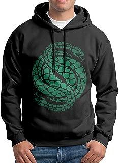 Des-Tiny 2 Gambit Logo Men Long Sleeve Casual Hoodie Hooded Sweatshirt Drawstring Black