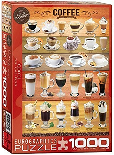 Eurographics Coffee Puzzle (1000 Pieces) by Eurographics