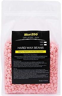 BlueZoo Depilatory Hard Wax Beans - 1 Kg Bag - Rose