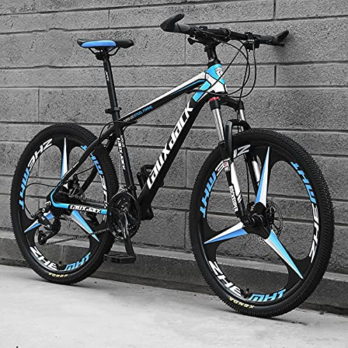 21/24/27 Speed Dual Disc Brake Full Suspension Outdoor Mountain/City Bike Adult Men And Women 24/26 Inch Off-Road Mountain Bike