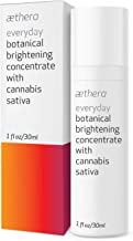 Aethera Beauty Everyday Botanical Brightening Concentrate with Cannabis Sativa Seed Oil - A nourishing antioxidant-rich oil that illuminates and moisturizes skin