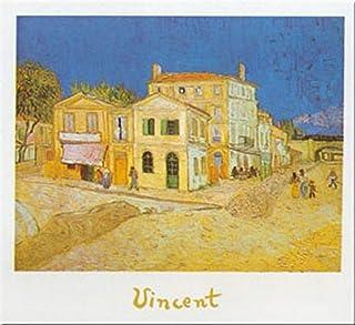 Buyartforless La Casa Giala - Arlesby Vincent Van Gogh 24x31 ملصق طباعة فني