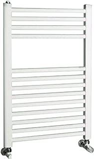 Cordivari Lisa 22 Towel Warmer Hydronic White Italy Design Straight 18''x28'' Radiator