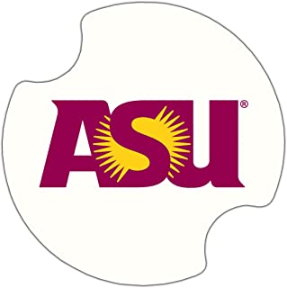 Thirstystone Arizona State University Car Cup Holder Coaster, 2-Pack